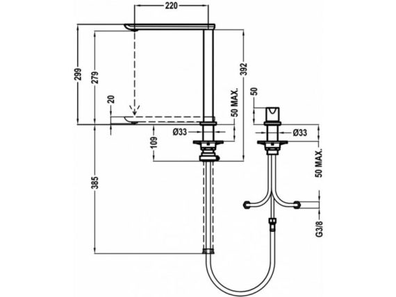 Vòi rửa Teka FO 985