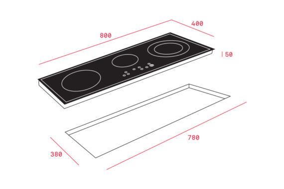 Bếp từ Teka IZ 8320 HS