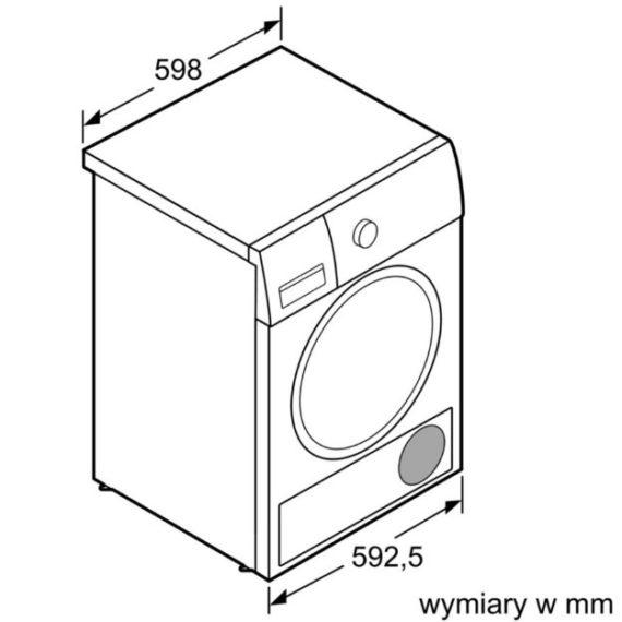 Máy sấy quần áo Bosch WTN86200PL