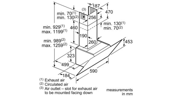 Máy hút mùi Bosch DWK67HM60B