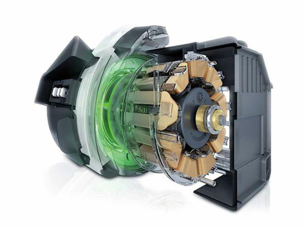 Động cơ siêu êm của Máy hút mùi Bosch DWK06G660